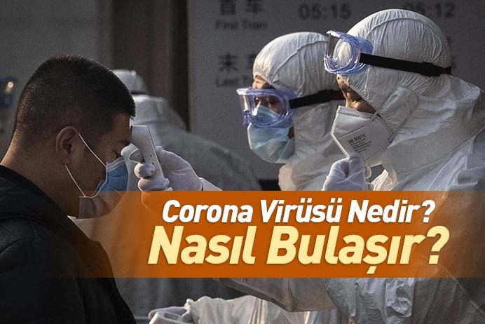 Corona Virüsü Nedir? Corona Virüsü Nasıl Bulaşır? Corona Virüsü Belirtileri Nelerdir?
