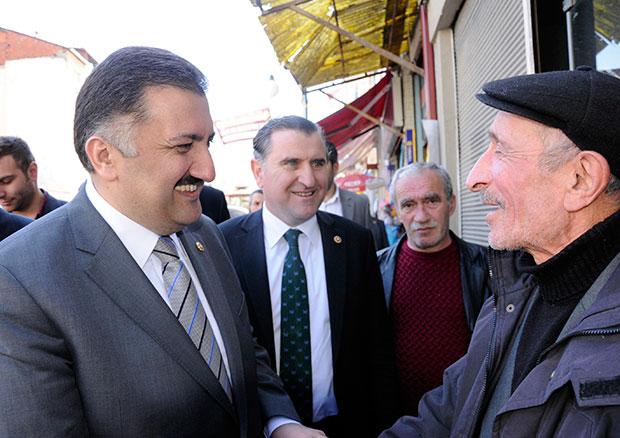 AK Parti'nin adaylar� G�neysu'da